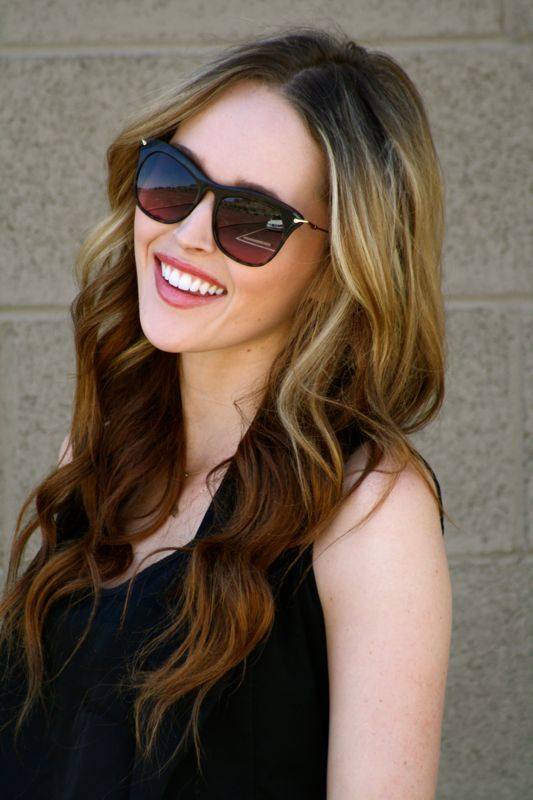 a8e9605d6a Personal Style Blogger- Denim Cutoffs- DIY Denim Shorts- Elizabeth   James  Fairfax Sunglasses