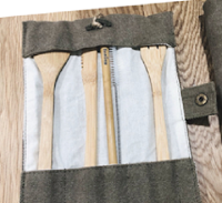 Logo Vinci gratis un set porta posate in cotone Bambaw