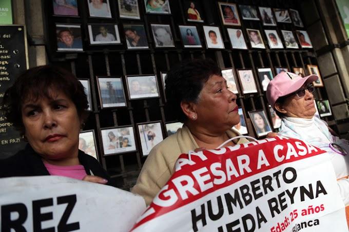 CON PEÑA, 40% DE LOS CASOS DE DESAPARICIÓN, ALERTA EL SENADO