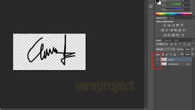 Membuat Tanda Tangan PNG di Word dengan Bantuan Adobe Photoshop