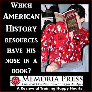 http://traininghappyhearts.blogspot.com/2017/04/MemoriaPressAmericanHistory.html