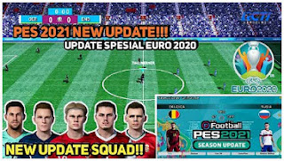 Download eFootball PES 2021 PPSSPP Android Base ISO Chelito V1.0 Special New Update EURO 2020