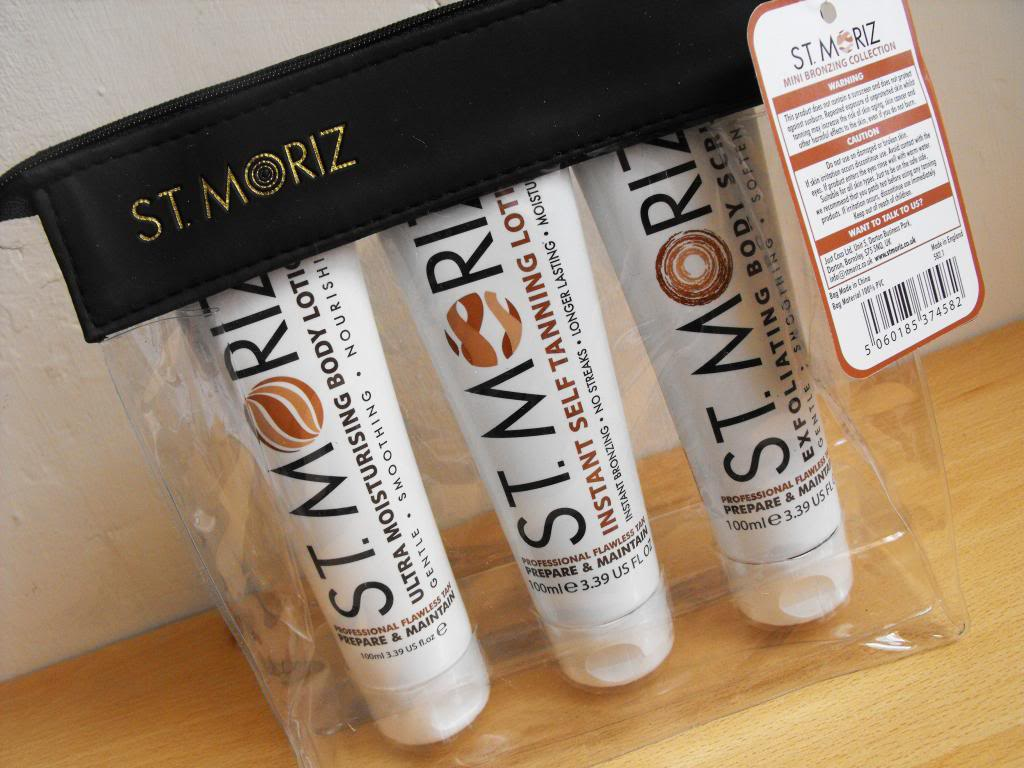 St Moritz Mini Bronzing Collection