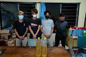 Pesta Miras Tengah Malam, 4 Pemuda Diciduk Polisi di Timur Terminal Tirtonadi