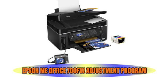 EPSON ME OFFICE 700FW PRINTER ADJUSTMENT PROGRAM