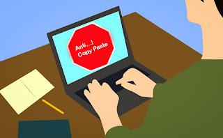 Cara Membuat Artikel Blog Tidak Dapat Di Copas