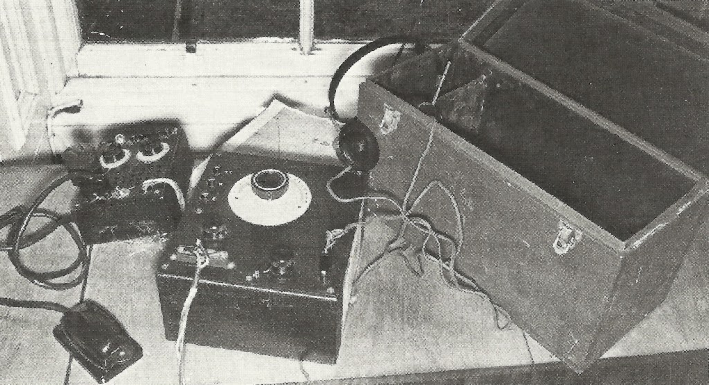 Karl Drucke's SE 88/5 transmitter/receiver.  In 1976 it was in the possession of William Merrilees  (former Chief Constable of Edinburgh).  (Photo from After the Battle Magazine, volume 11)