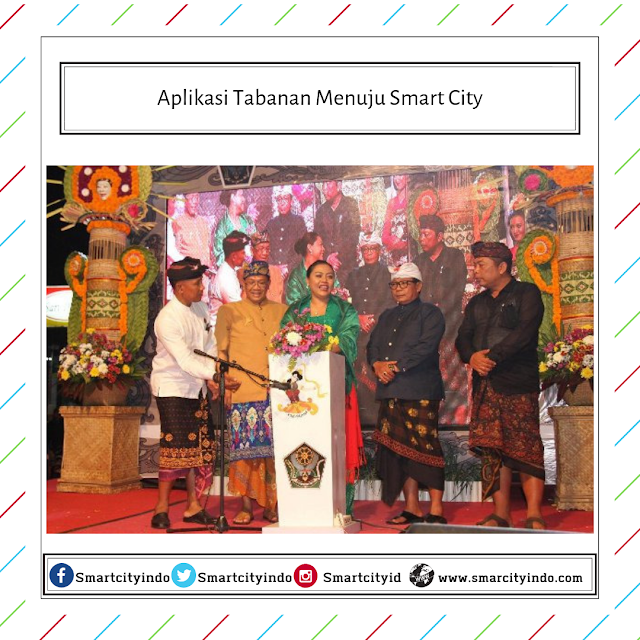 Aplikasi Tabanan Menuju Smart City