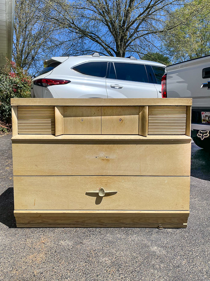 Dated MCM dresser before