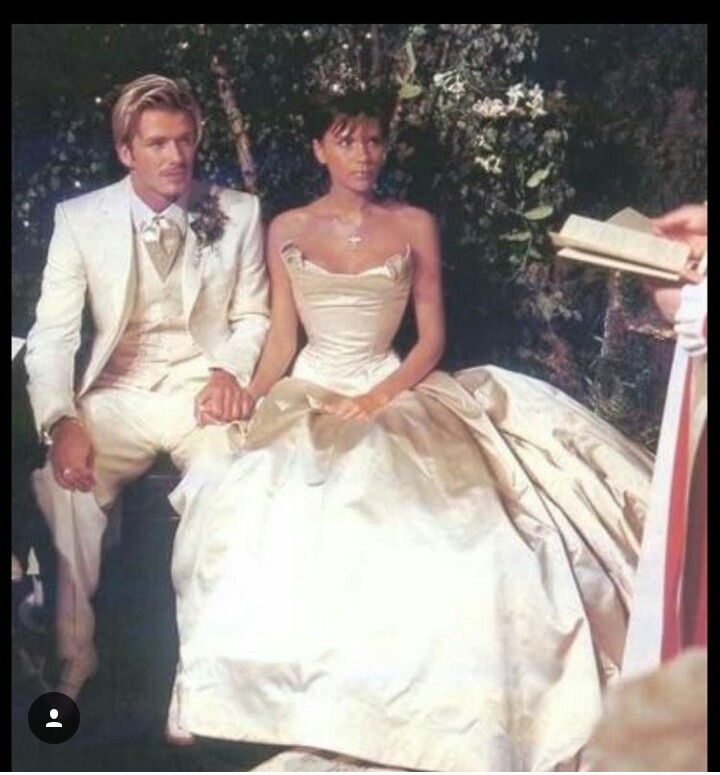 Victoria Beckham Wedding Dresses 10 Elegant David And Victoria Beckham