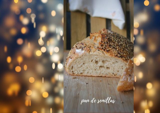 Pan de semillas El Ágora de Ángeles