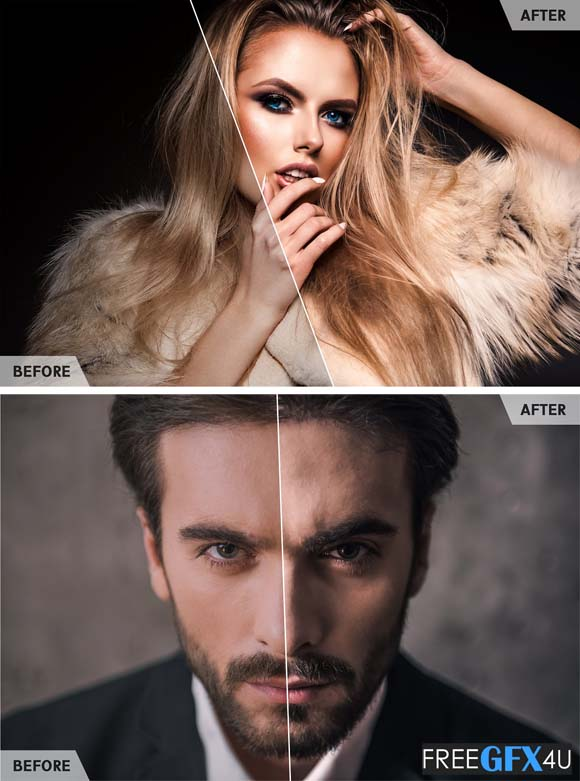 50 High End Retouch Lightroom Presets Free Download