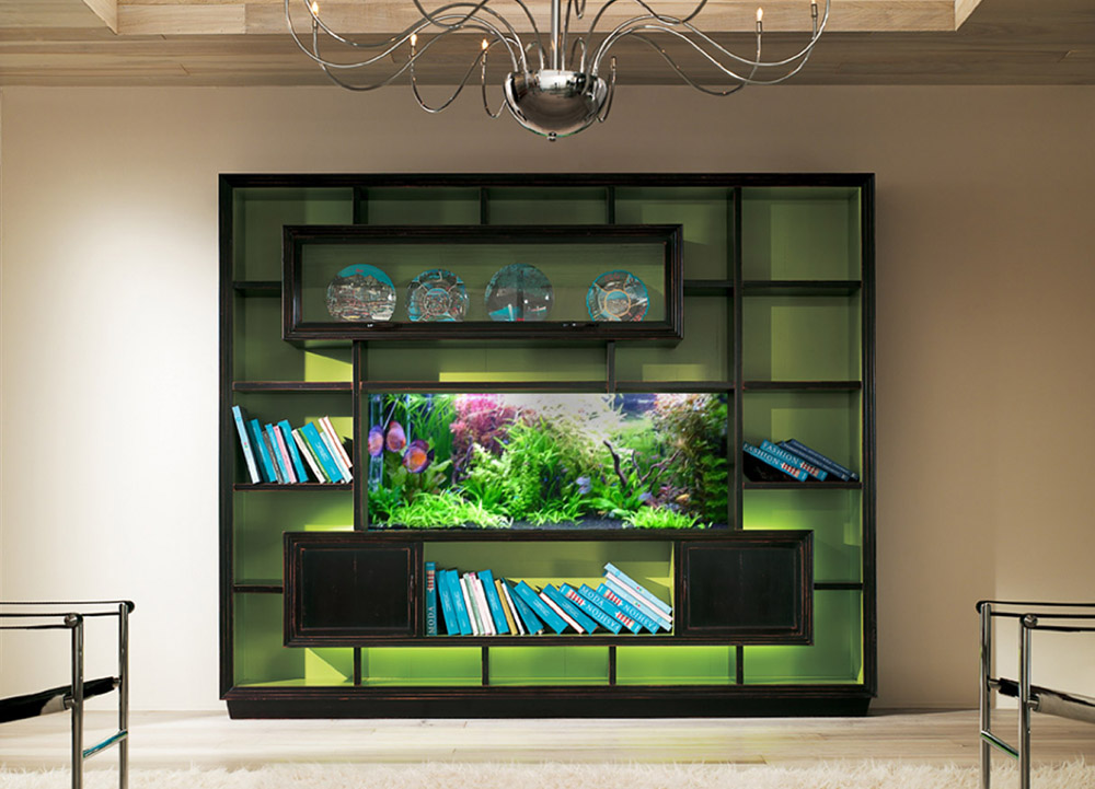 No Room For An Aquarium? Think Again. 20 Unusual Places In Your Home For Fish  Tanks.