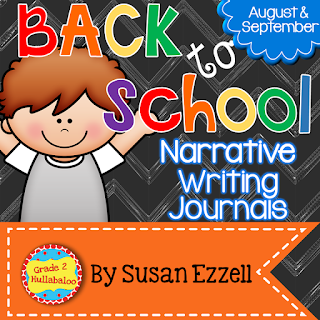narrative writing journals