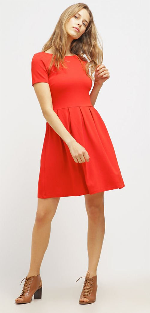Robe courte rouge mint&berry