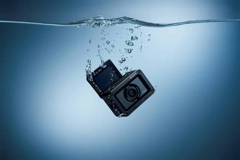 The RXO II is waterproof, dustproof, shockproof, and crushproof.