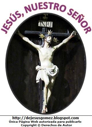 Imagen de Jesús en la Cruz, perteneciente a Jesus Gómez