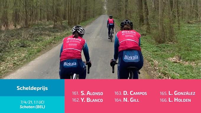 El Bizkaia - Durango disputará hoy el Scheldeprijs