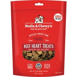 Stella & Chewy's Dog Freeze Dried Treat Beef Heart 3 Oz