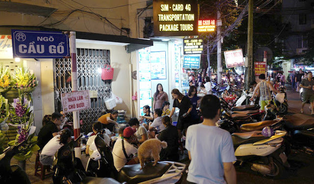 Downtown Ha Noi harbors a sticky rice secret