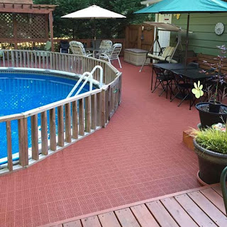 Greatmats pool deck outdoor flooring options
