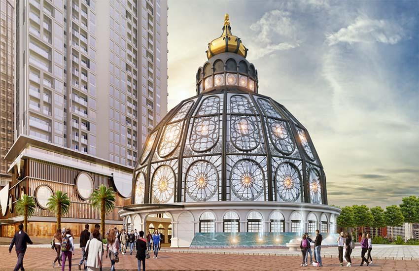 Chung cư  Hinode City Minh Khai