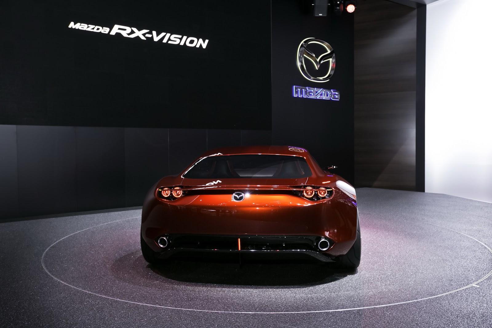 Mazda mang RX-Vision Concept đến Geneva năm nay