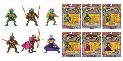 San Diego Comic-Con 2020 Exclusive Teenage Mutant Ninja Turtles Retro Rotocast Action Figure Set by Playmates