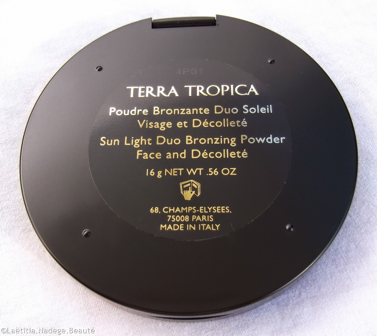 GUERLAIN  Terracotta  Terra Tropica Bronzer Blush.