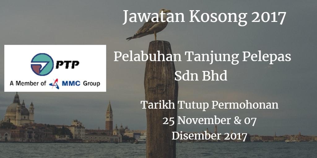 Jawatan Kosong PTP 25 November & 07 Disember 2017