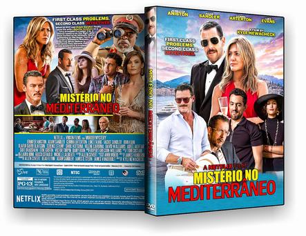 DVD MISTÉRIO NO MEDITERRÂNEO - ISO
