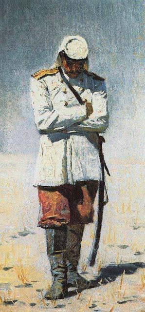 Василий Васильевич Верещагин - Туркестанский офицер, когда похода не будет. 1873