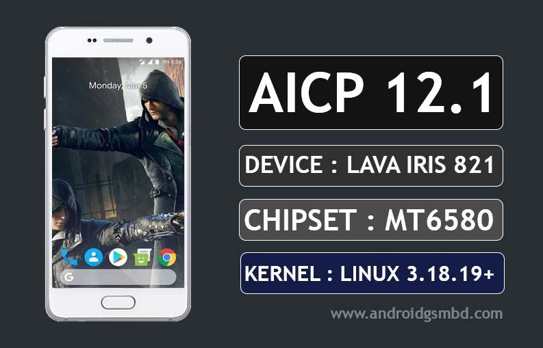 [MT6580] [6.0.1] PAC OS Custom Rom For Lava Iris 820