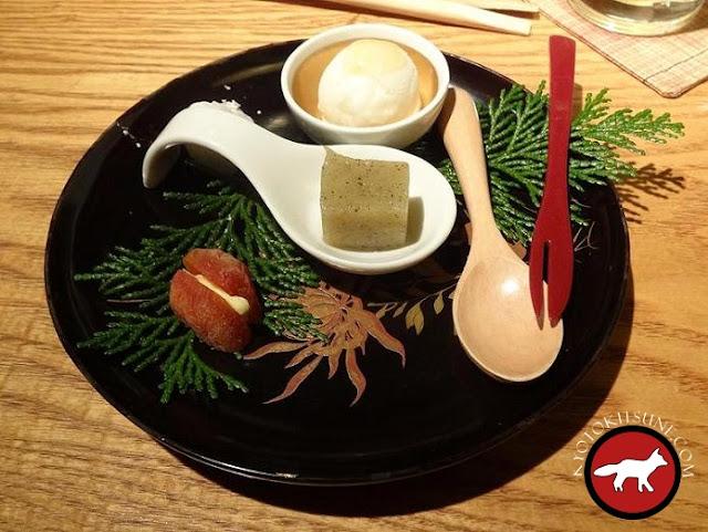 Dessert du restaurant Guilo Guilo à Kyoto