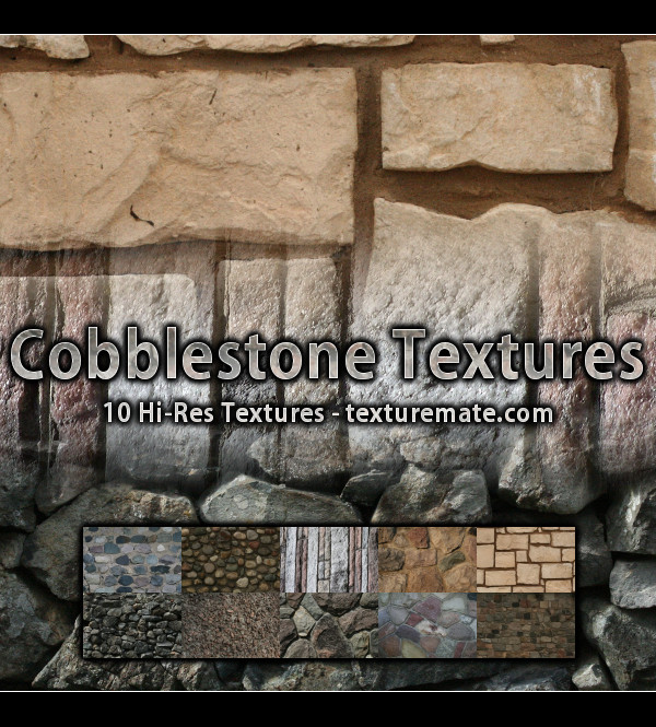 Free Texture Pack for Commercial Use – Cobblestone