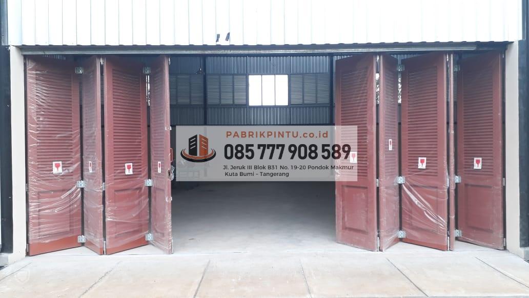 baja ringan murah ngawi jual pintu lipat besi minimalis harga 2019
