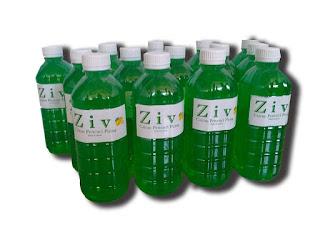 ZIV Cairan Pencuci Piring Dengan Ekstrak Jeruk Nipis