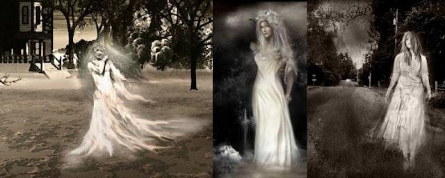 Efsanevi Yaratık Dames Blanches (Fransız Mitolojisi)