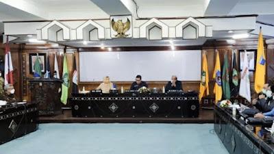 Didatangi Komisi II DPR RI, Wagub NTB Beberkan Cara Serap Aspirasi Masyarakat di Masa Pandemi