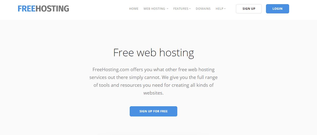 Freehosting penyedia hosting gratis