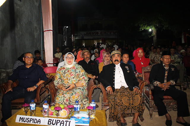 Resepsi Peringatan HUT Kemerdekaan RI ke – 74 Paguyuban Kawula Kraton Surakarta Hadiningrat Sragen