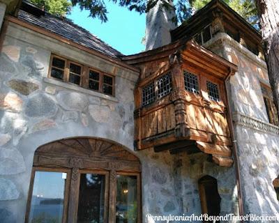 Vikingsholm Castle Mansion in Emerald Bay State Park - California