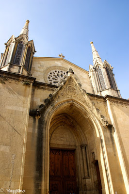 Facciata della Chiesa di Saint Pons a Sommieres