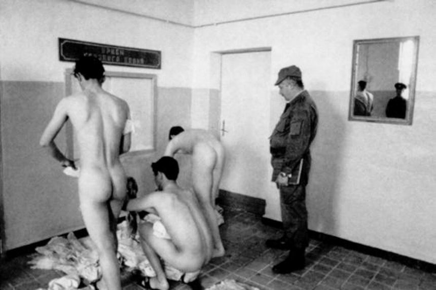 Recollect Nude male military physical exams apologise