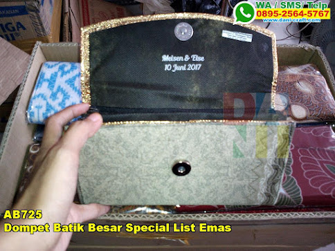 Toko Dompet Batik Besar Special List Emas