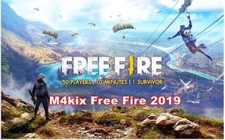 M4kix Free Fire, Cara Redeem Code FF  M4Kix Free Fire 2019 sebagai Reward ff garena