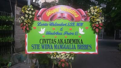bunga papan pernikahan surabaya 3