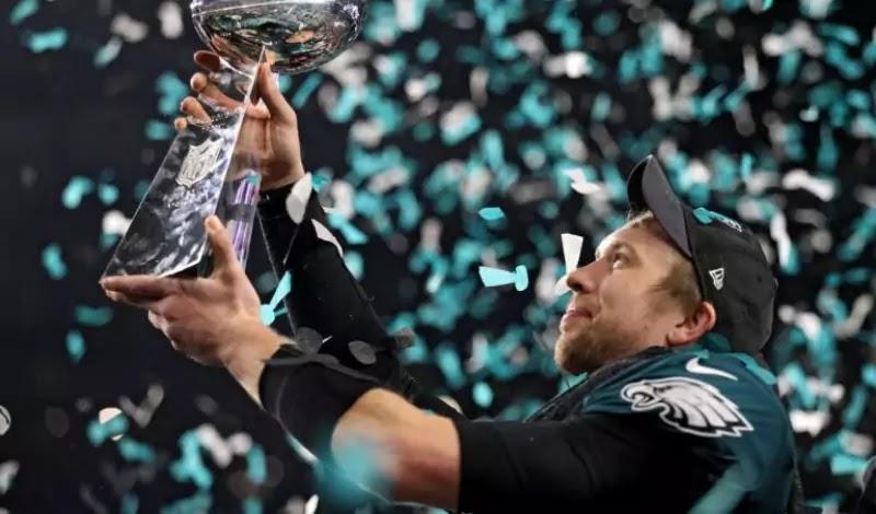 Foles was named MVP of Super Bowl LII