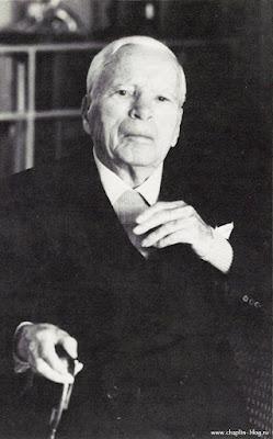 Чарльз Спенсер Чаплин, последняя рождественская открытка