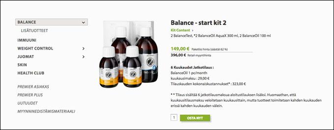 Zinzino Balance Oil kokemuksia